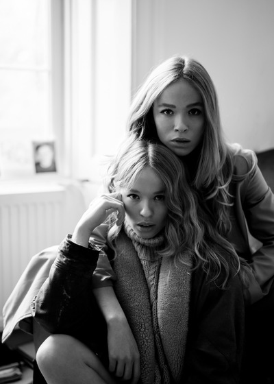 Yasmin and Leela Carr-Bond - Camden Shoot by John Barwood 2016