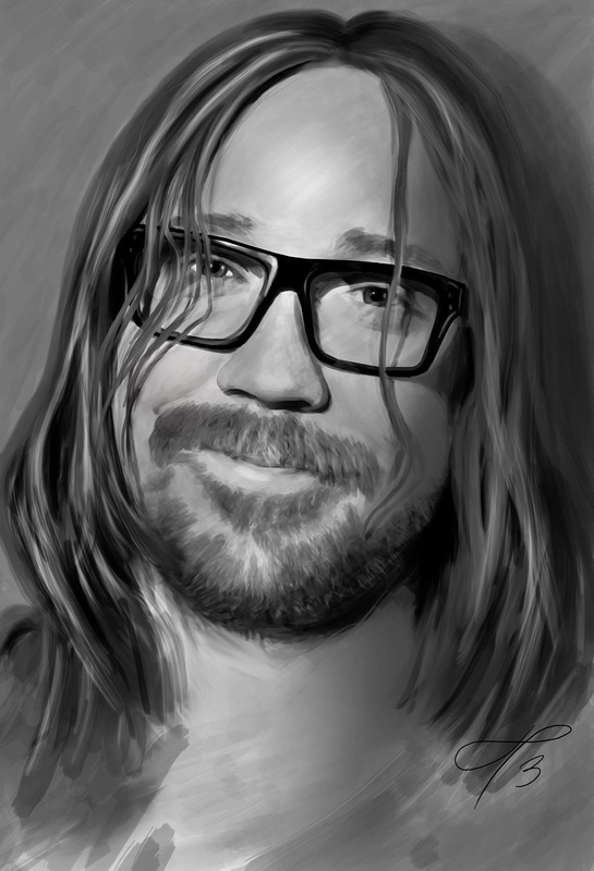 Linda Persson - Digital artist - My beloved Lasse Winnerbäck <3