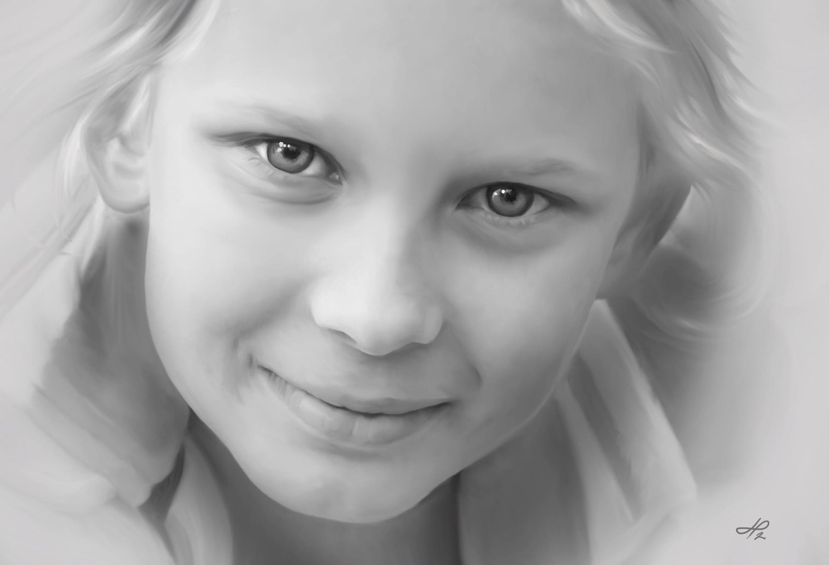 Linda Persson - Digital artist - My daugther