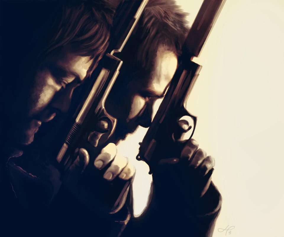 Linda Persson - Digital artist - From the Boondock saints movie
