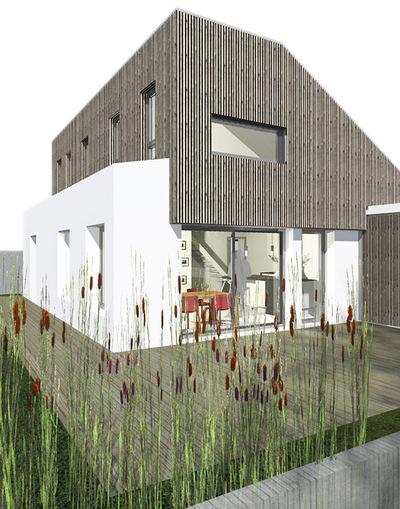 un1architecte - Maison Av / La Baule Escoublac
