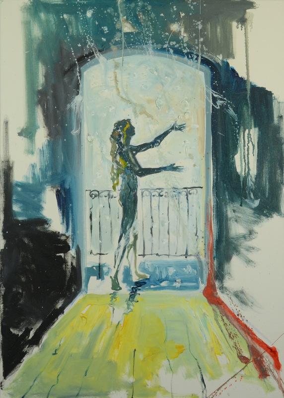 Martina Dalla Stella - Neve, olio su tela, 70x50 cm, 2012