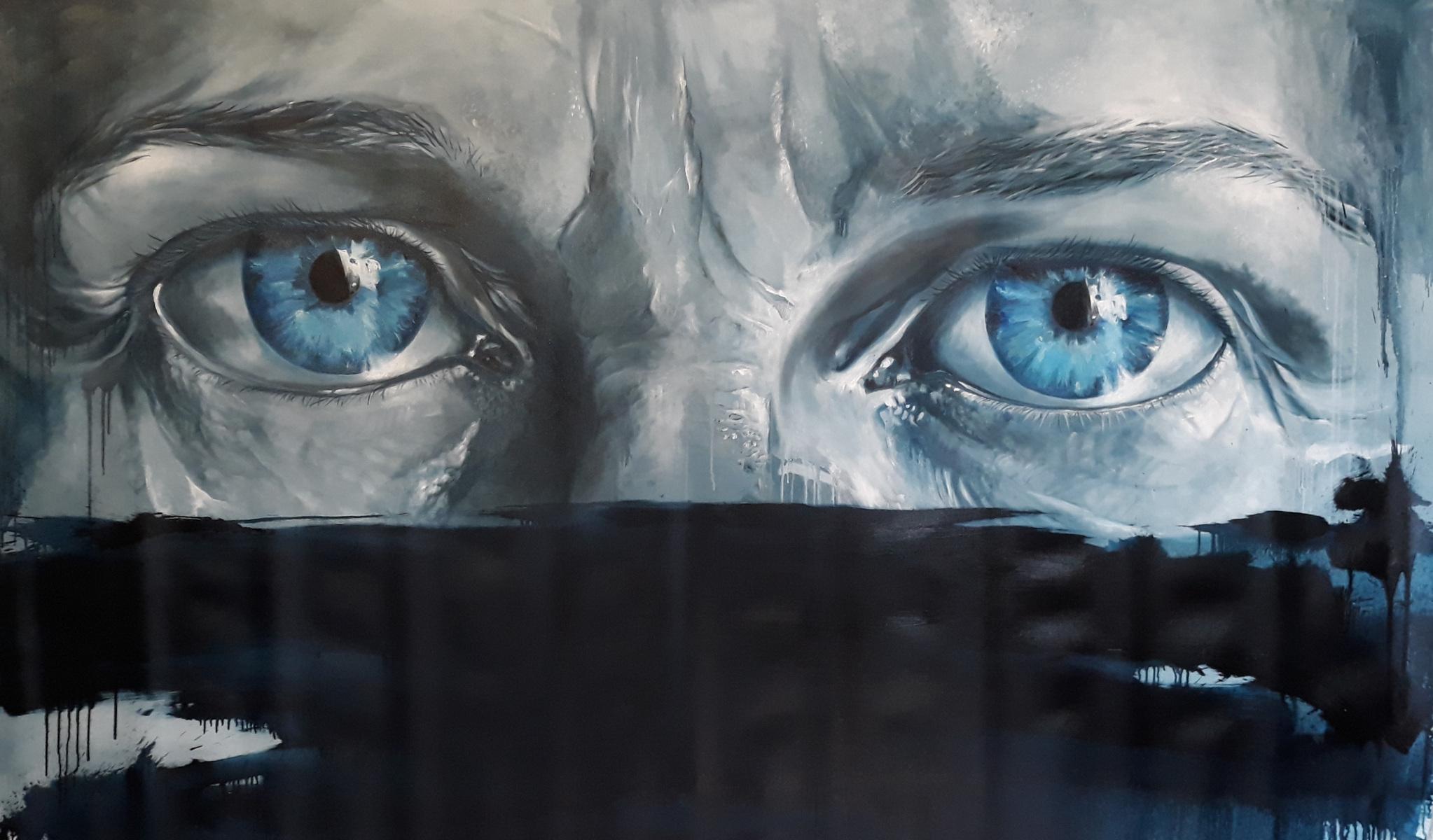 Martina Dalla Stella - Senza titolo, olio su tela, 120x170 cm, 2020