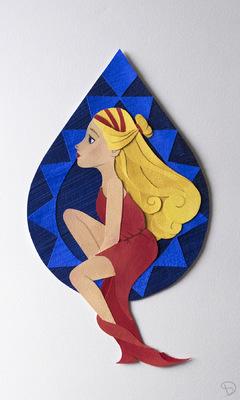 Anthea - Birthstone Series: Sapphire (September)