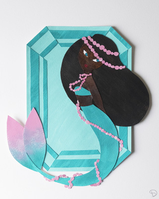 Anthea - Birthstone Series: Aquamarine (March)