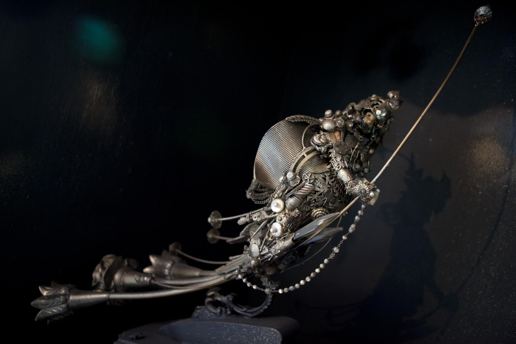 Jacques Lélut - SPACE-SAMOURAI / Poupée Barbie revisitée Collection privée