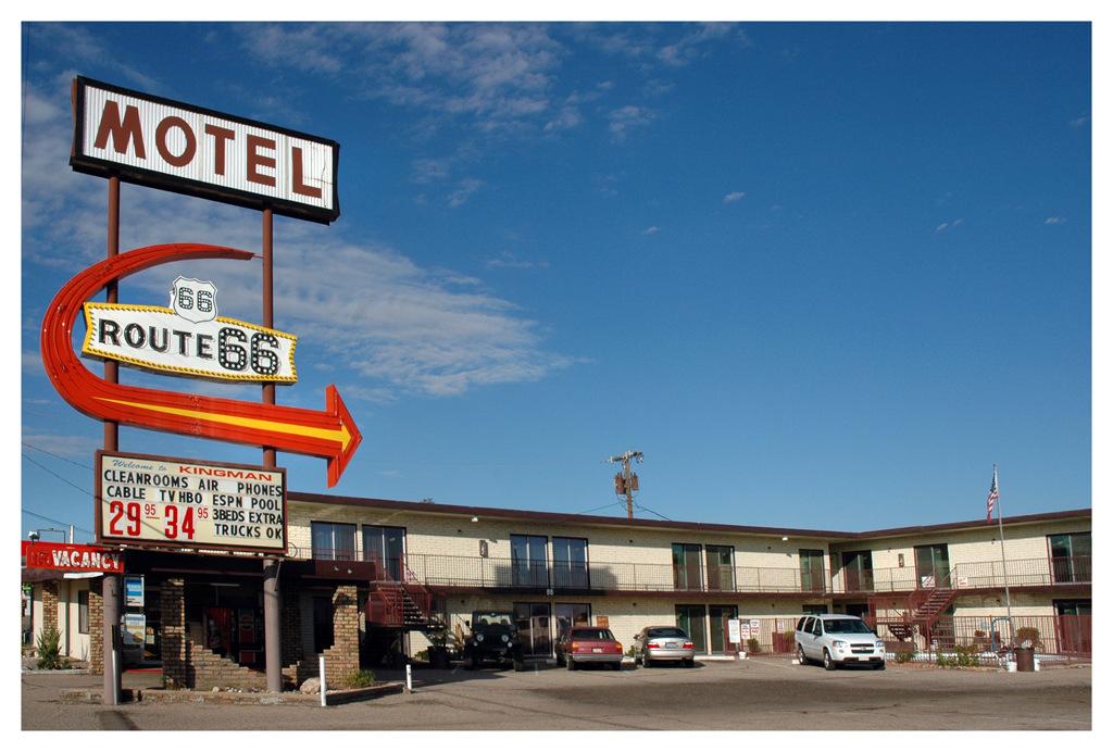 Simon Larson Photography - Motel #7, Route 66