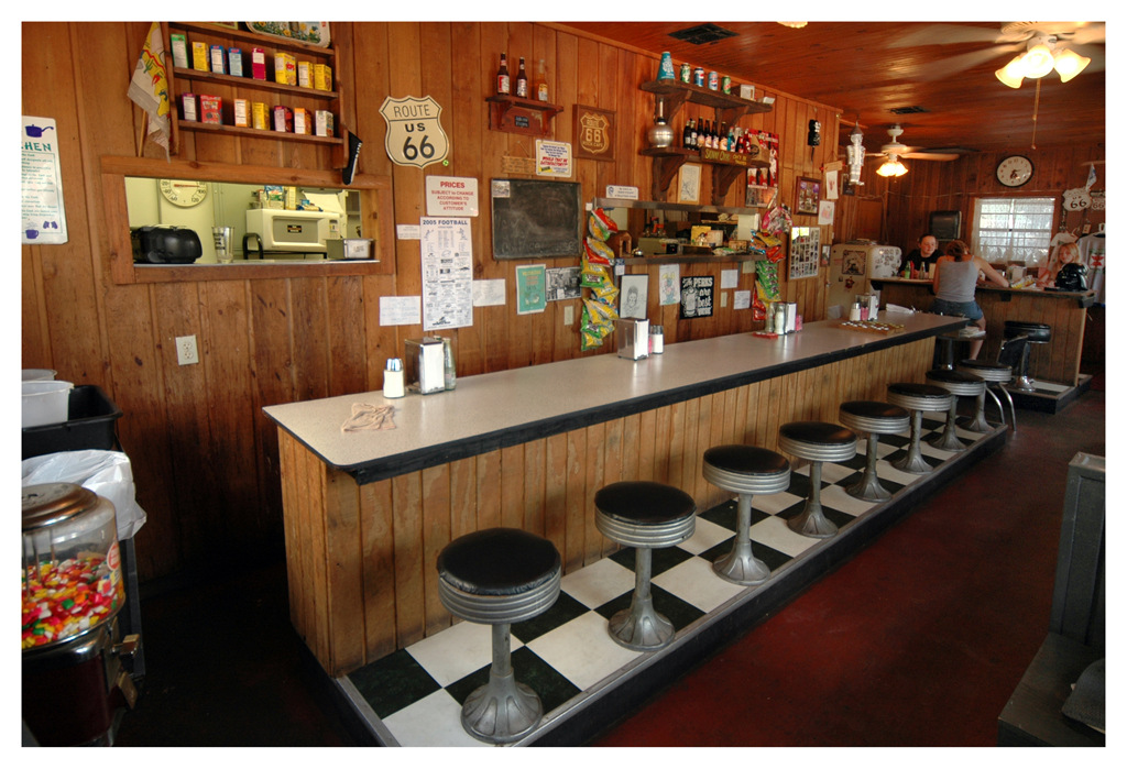 Simon Larson Photography - Rock Café, Stroud, Oklahoma, Route 66