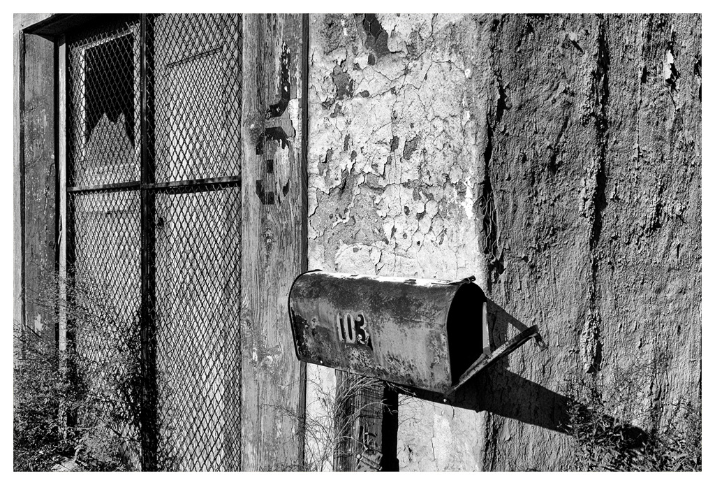 Simon Larson Photography - Battery Building Mail Box, Route 66, Arizona