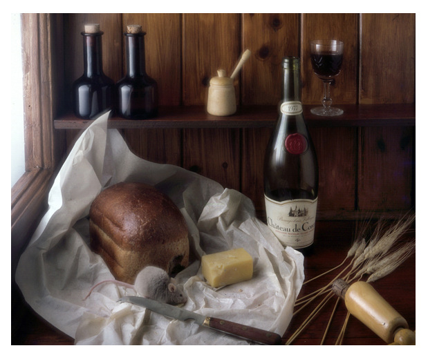 Simon Larson Photography - Cheese and Wine with Mouse