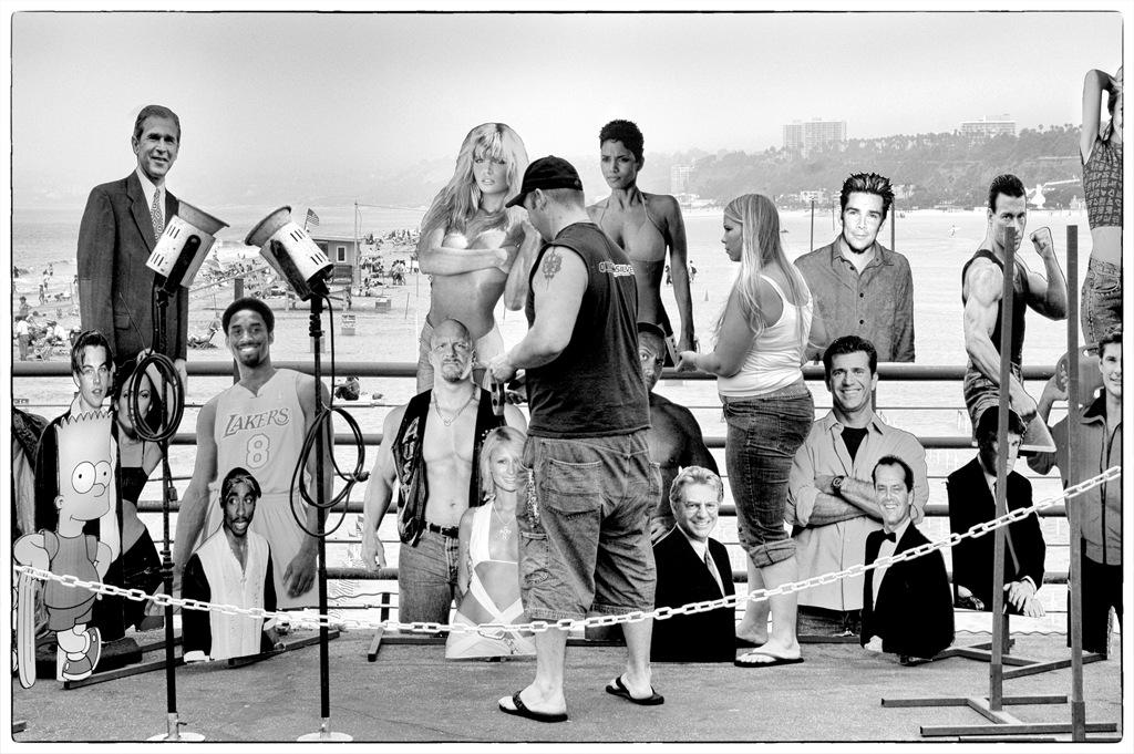 Simon Larson Photography - Santa Monica Beach, The End of Route 66