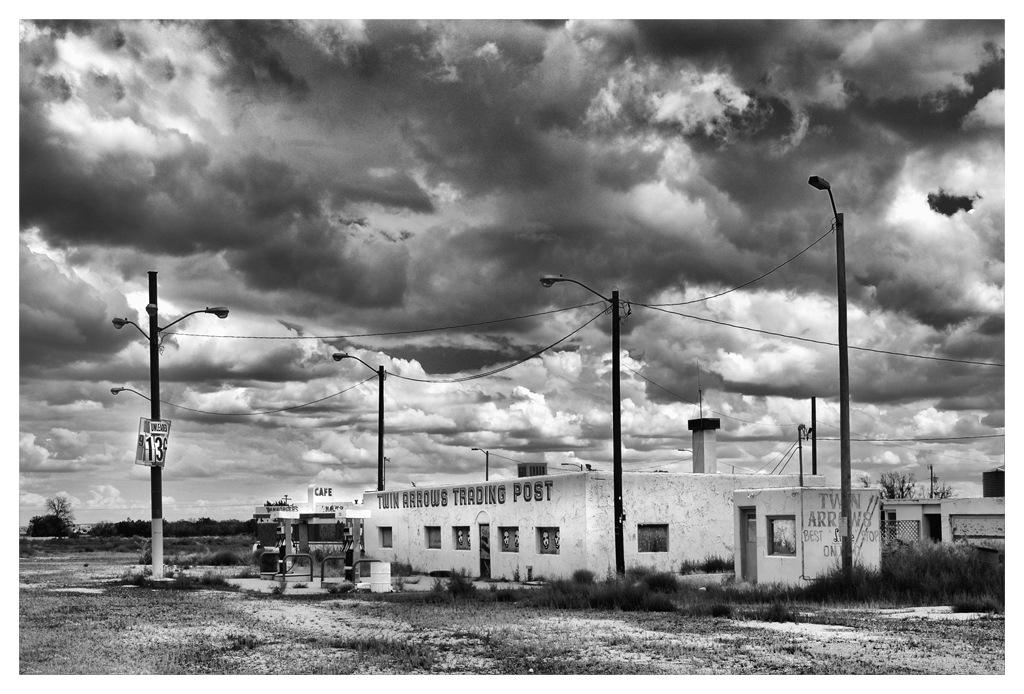 Simon Larson Photography - Twin Arrows Trading Post, Arizona, Route 66