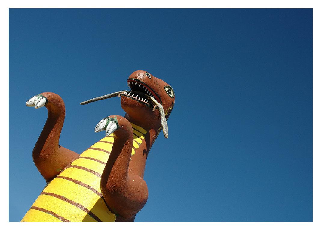 Simon Larson Photography - Dinosaur, Route 66, Arizona