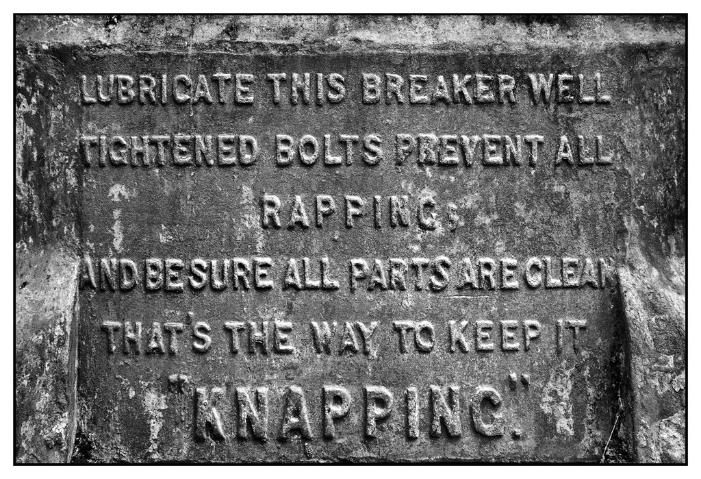Simon Larson Photography - Derelict Stone breaker machine, Broadford