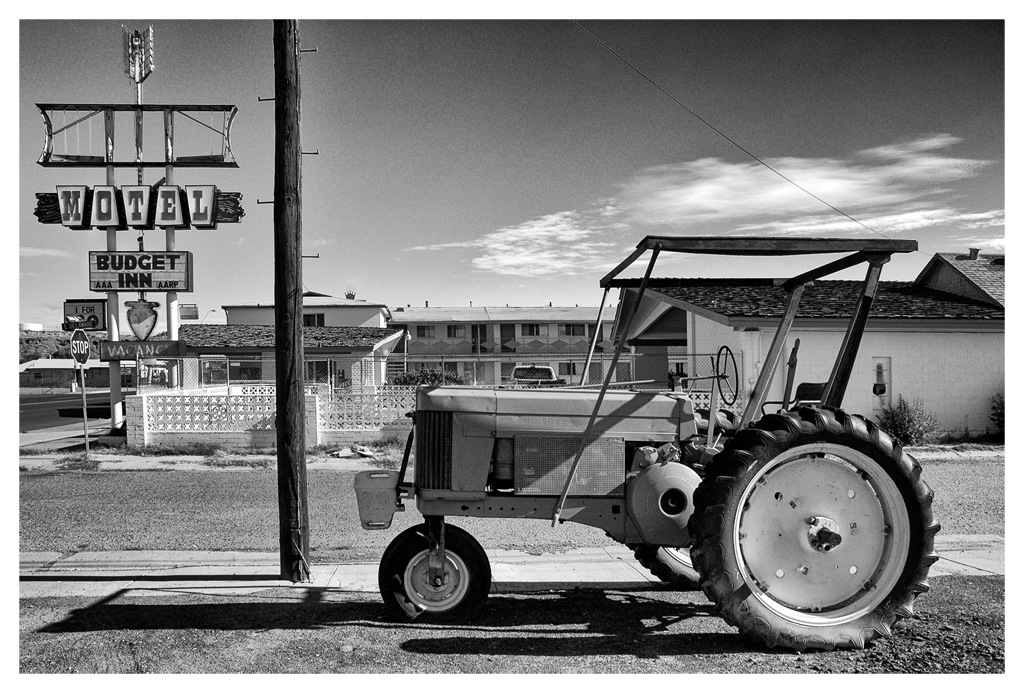 Simon Larson Photography - Tractor, Arizona, Route 66