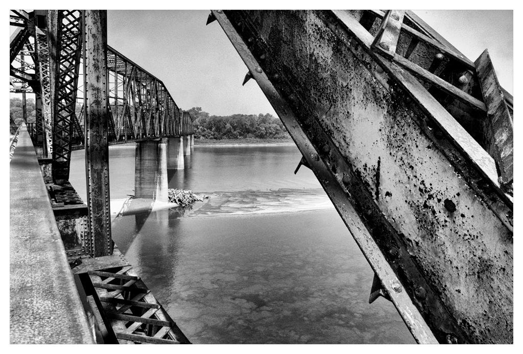 Simon Larson Photography - The Chain of Rocks Bridge linking Madison in Illinois to St. Louis in Missouri, Route 66