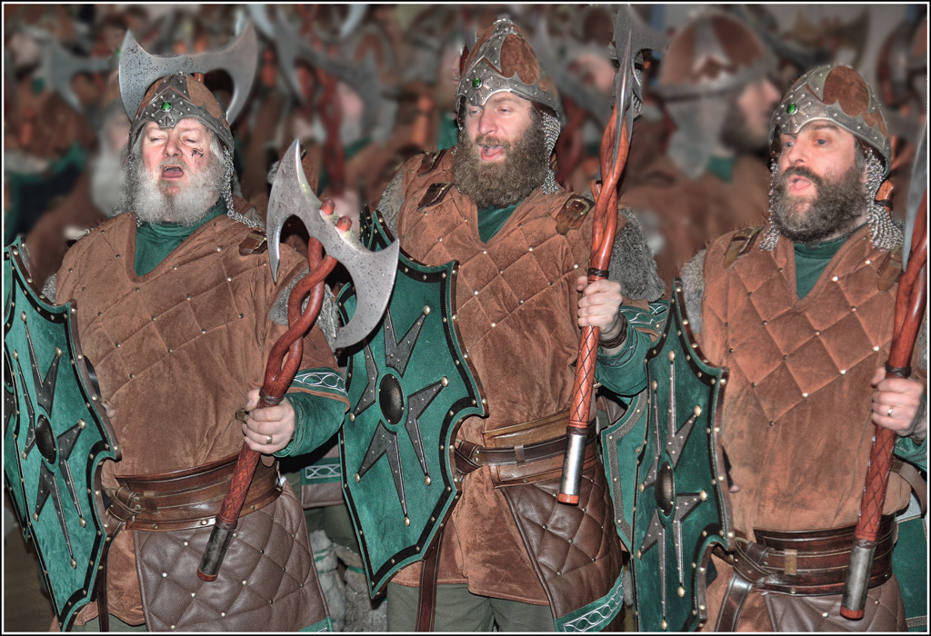 Simon Larson Photography - Singing the Up Helly Aa Song