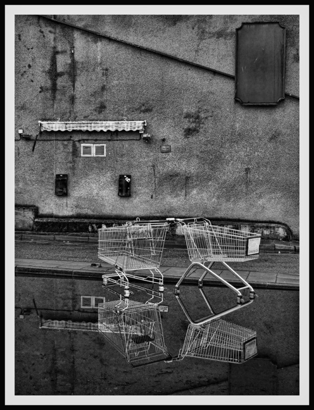 Simon Larson Photography - Shopping Trollies, Inverness