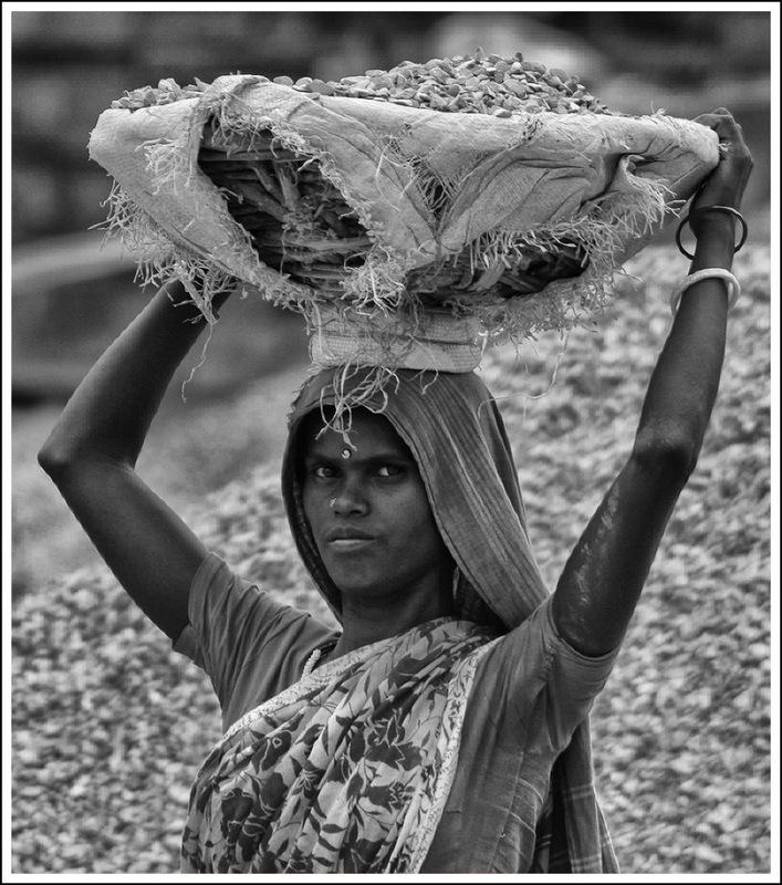 Simon Larson Photography - Construction Site Worker, Jalandhar