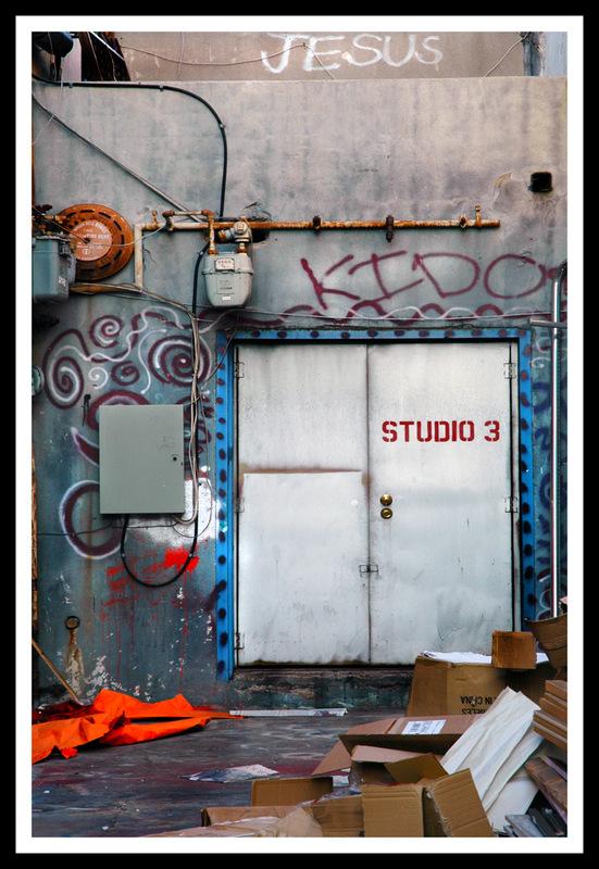 Simon Larson Photography - Jesus, Film Studios, Hollywood, Route 66