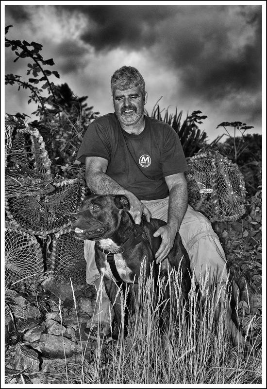 Simon Larson Photography - DJ Morrison with Ozzy, Ardvasar