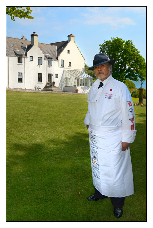 Simon Larson Photography - Master Japanese Chef, Mr Hisatoshi Utsunomiya, Kinloch Lodge Hotel & Restaurant