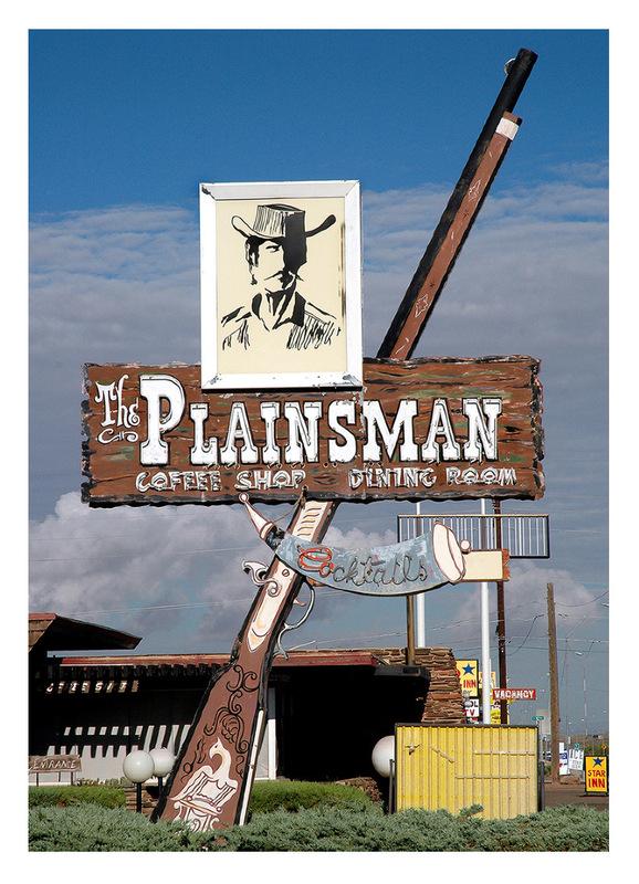 Simon Larson Photography - The Plainsman, Route 66, Arizona