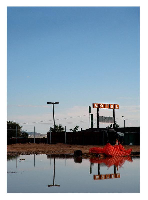 Simon Larson Photography - Motel #4, Texas, Route 66