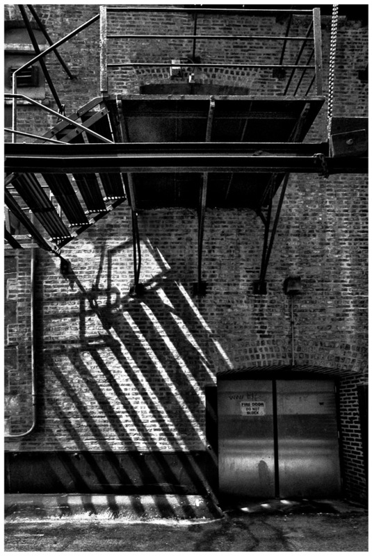 Simon Larson Photography - Fire Escape, Chicago - the start of Route 66
