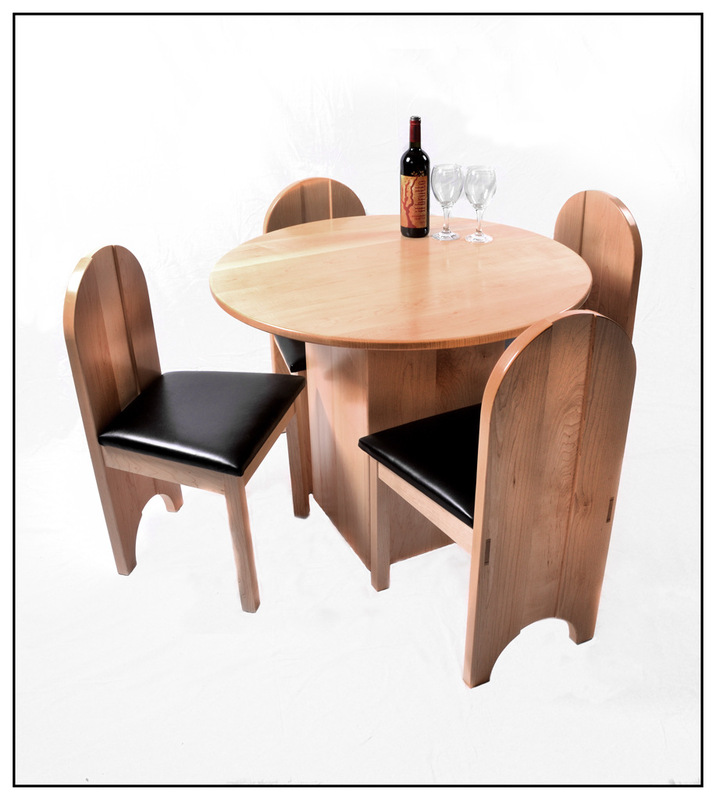 Simon Larson Photography - Bespoke Table & Chairs made by Isle of Skye Furniture Makers