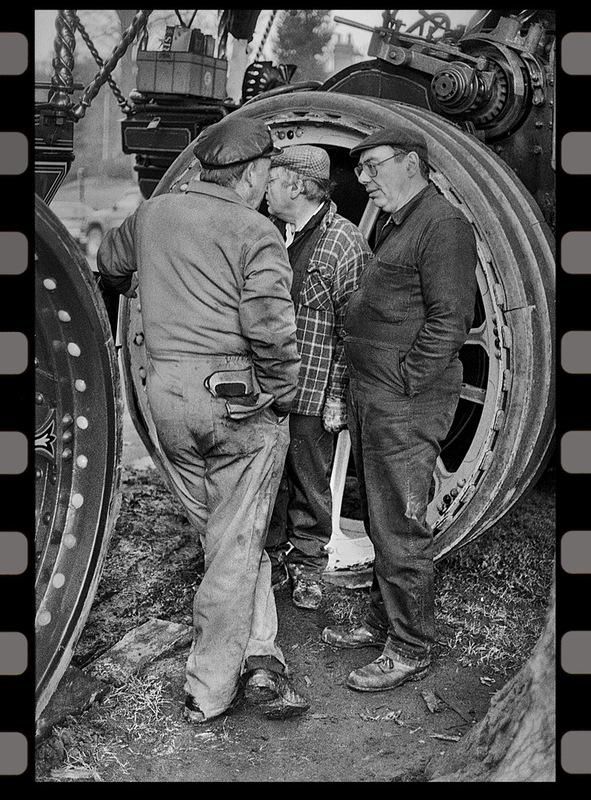 Simon Larson Photography - Steam Engine Drivers