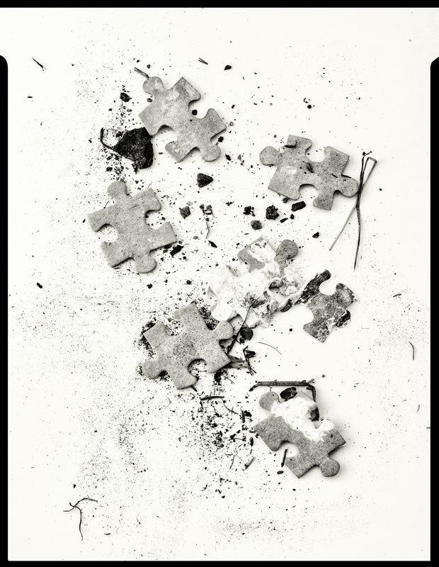 Simon Larson Photography - Underfoot #3 - Kyle of Lochalsh rubbish tip. After Irving Penn