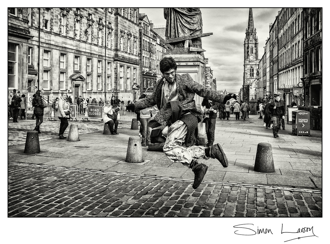 Simon Larson Photography - Street Dancer, Edinburgh, 2017