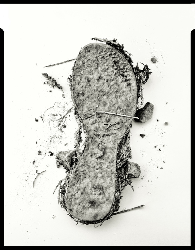Simon Larson Photography - Underfoot #1 - Kyle of Lochalsh rubbish tip. After Irving Penn