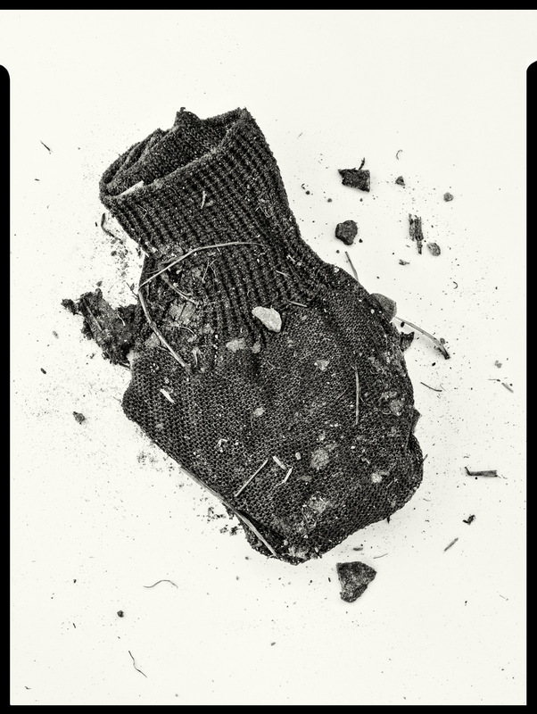 Simon Larson Photography - Underfoot #4 - Kyle of Lochalsh rubbish tip. After Irving Penn