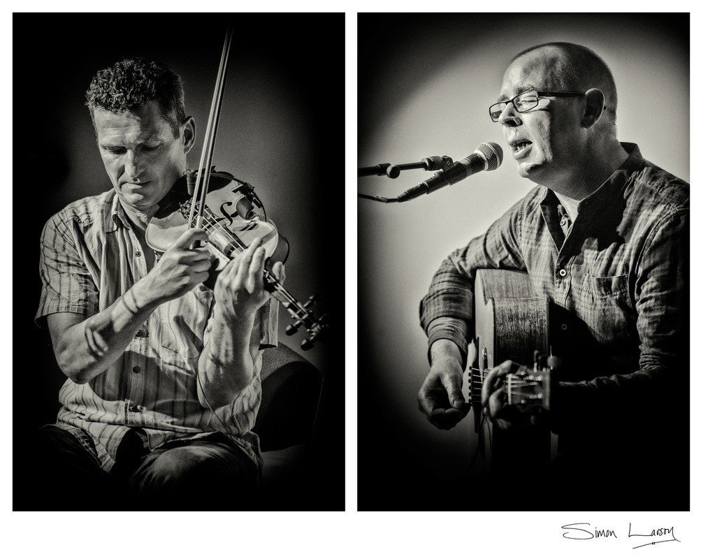 Simon Larson Photography - Charlie McKerron & Mark Clements in concert at Sabhal Mor Ostaig 8 August 2017