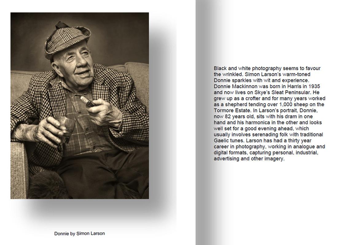 Simon Larson Photography - A screen grab taken from Scottish Art Scene 110