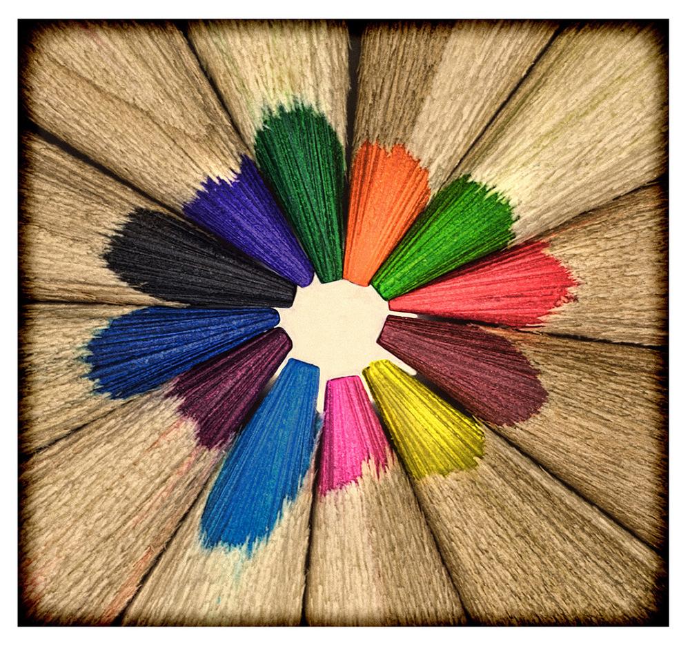 Simon Larson Photography - Coloured Pencils