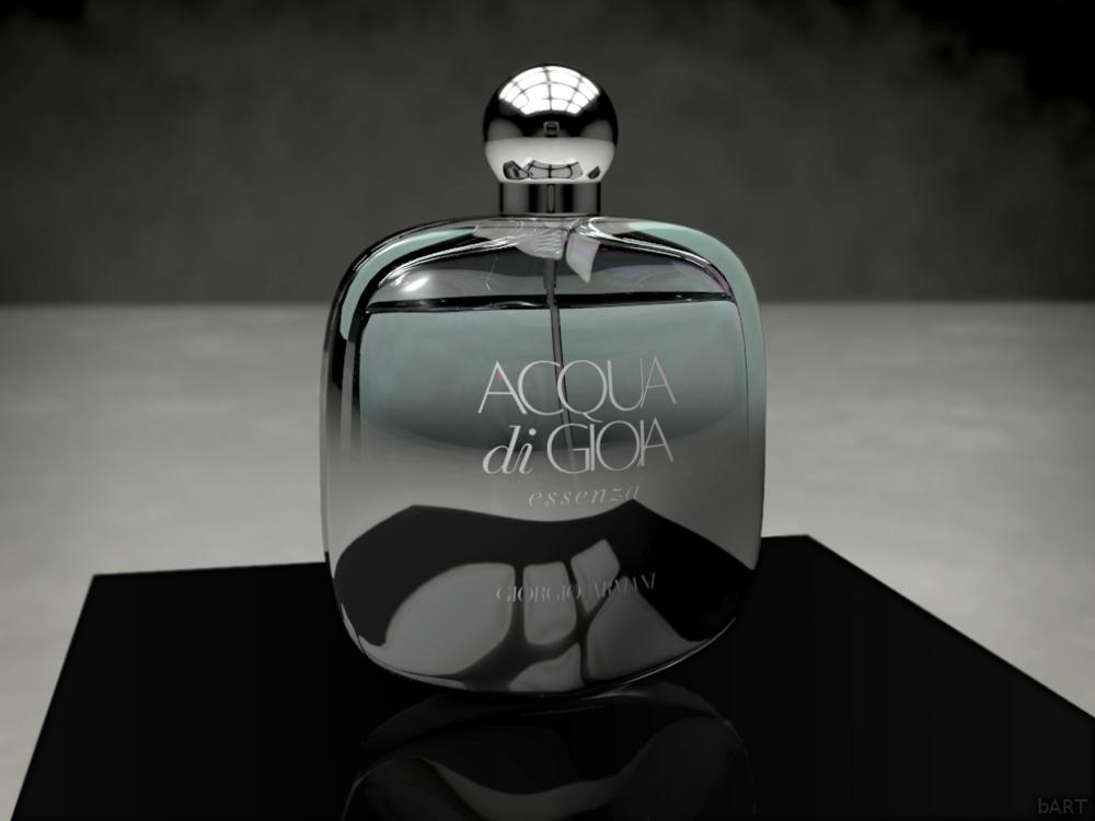 Barts Garage Kraków - Perfume bottle