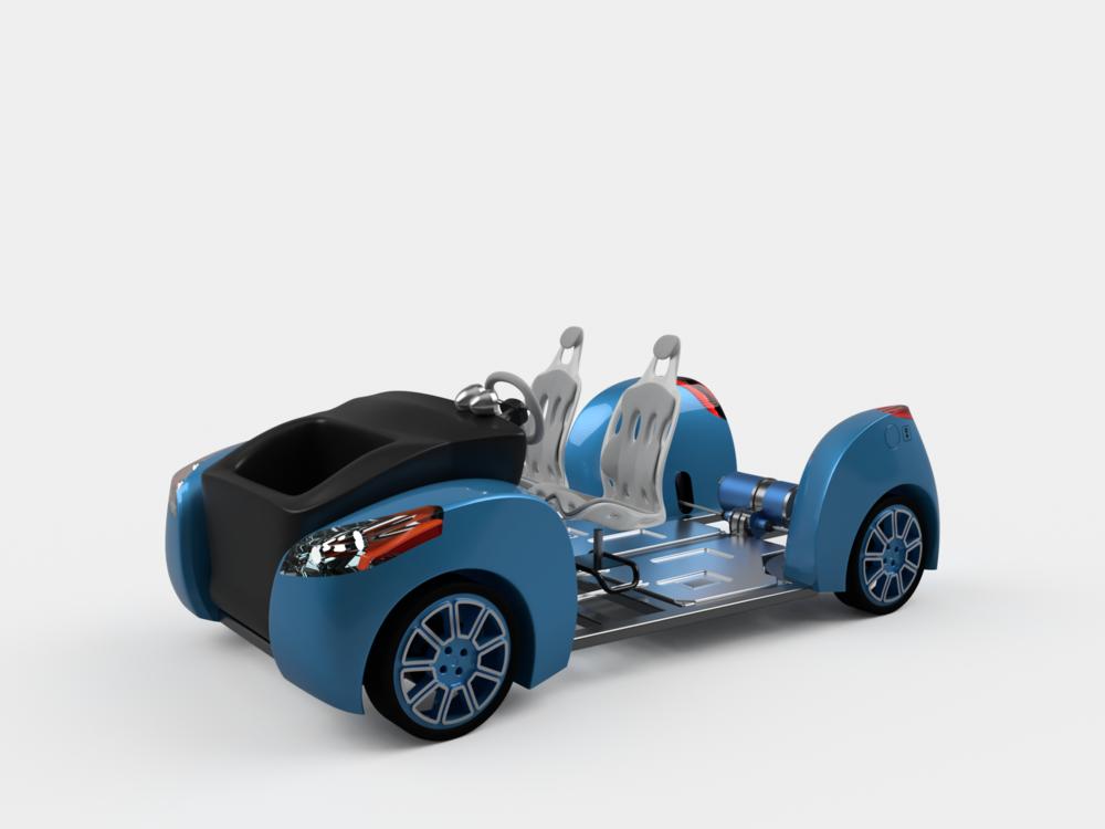Barts Garage Kraków - Product concept visualization