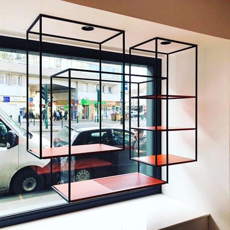 ENTRE AXES ARCHITECTURE - Etagères vitrine