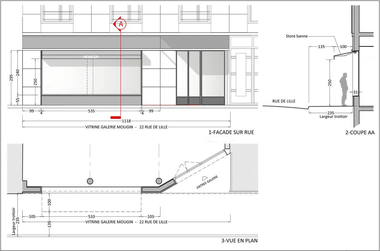 ENTRE AXES ARCHITECTURE - Façade sur rue Déclaration préalable