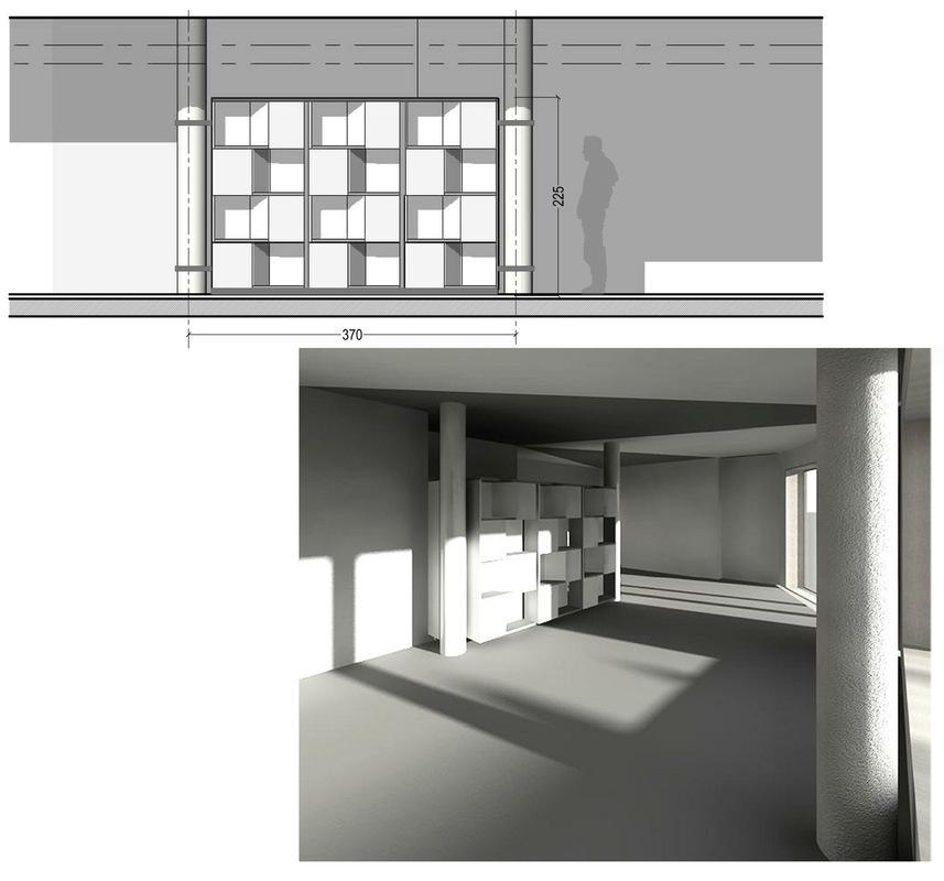 ENTRE AXES ARCHITECTURE - Etudes pour laménagement intérieur