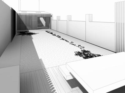 ENTRE AXES ARCHITECTURE - TRANSFORMATION dUN GARAGE EN STUDIO A PUTEAUX (92)