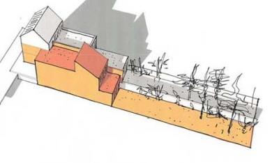 ENTRE AXES ARCHITECTURE - ETUDE DE FAISABILITE POUR 2 MAISONS JULELEES A SURESNES