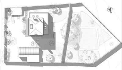 ENTRE AXES ARCHITECTURE - Rénovation et extension dune maison individuelle