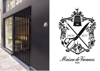 ENTRE AXES ARCHITECTURE - MAISON DE VACANCES Boutique Rue de CLERY PARIS II