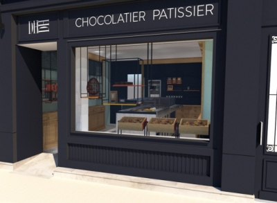ENTRE AXES ARCHITECTURE - DH CHOCOLATIER PATISSIER Colombes(92)