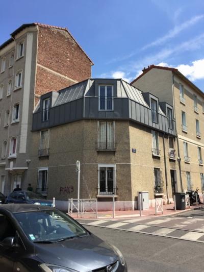 ENTRE AXES ARCHITECTURE - RENOVATION ET SURELEVATION DUN APPARTEMENT A MONTROUGE