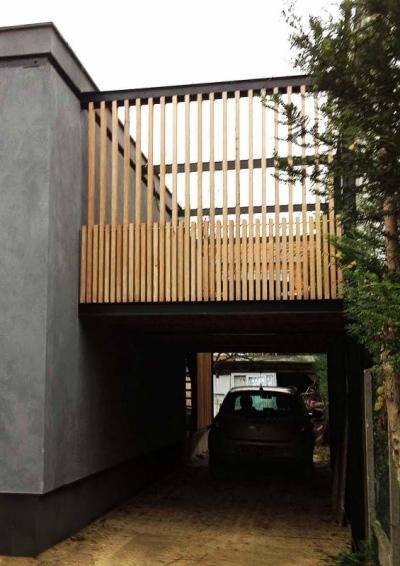 ENTRE AXES ARCHITECTURE - RENOVATION ET EXTENSION DUNE MAISON INDIVIDUELLE (93)